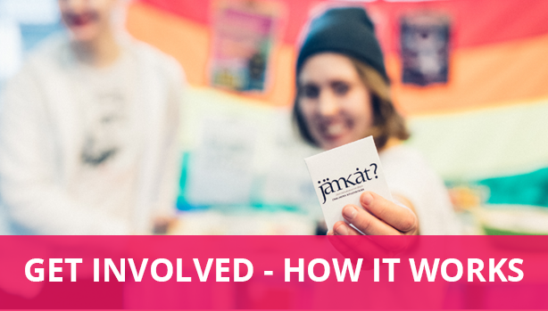 Get involved- how it works