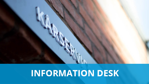 Information desk- membership questions